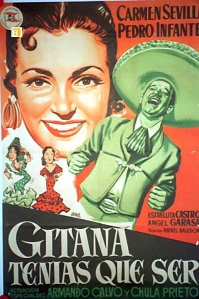 Caratula, cartel, poster o portada de Gitana tenías que ser