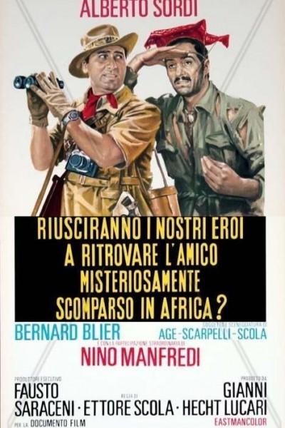 Caratula, cartel, poster o portada de Mister Sabatini... Africa... allá vamos