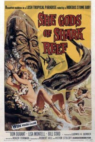Caratula, cartel, poster o portada de La Diosa Tiburón