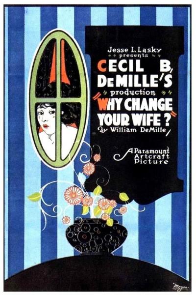 Caratula, cartel, poster o portada de ¿Por qué cambiar de esposa?