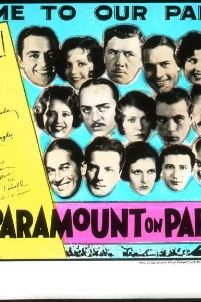 Caratula, cartel, poster o portada de Paramount on Parade