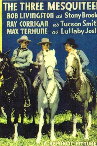 Caratula, cartel, poster o portada de The Three Mesquiteers