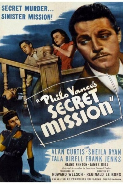 Caratula, cartel, poster o portada de Philo Vance\'s Secret Mission