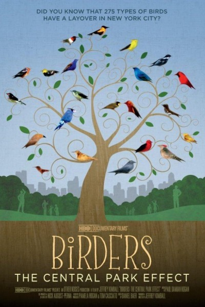 Caratula, cartel, poster o portada de Birders: The Central Park Effect