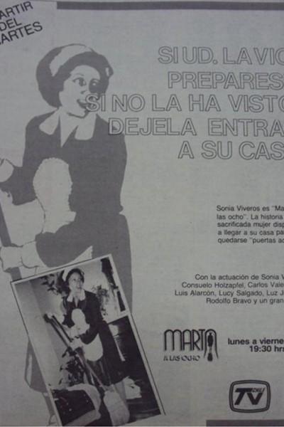 Caratula, cartel, poster o portada de Marta a las Ocho