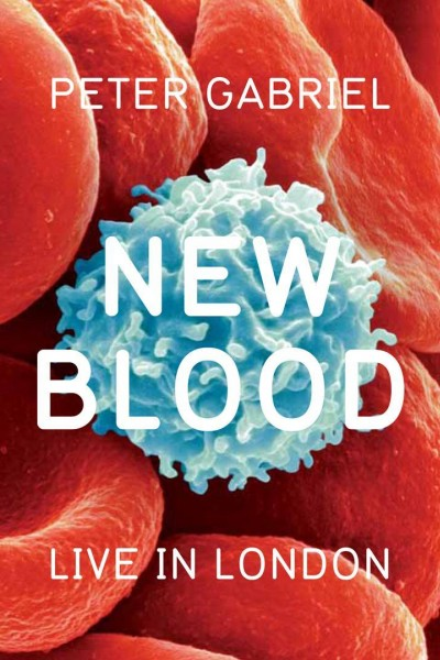 Caratula, cartel, poster o portada de Peter Gabriel: New Blood/Live in London