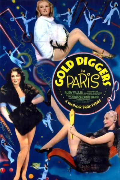 Caratula, cartel, poster o portada de Gold Diggers in Paris