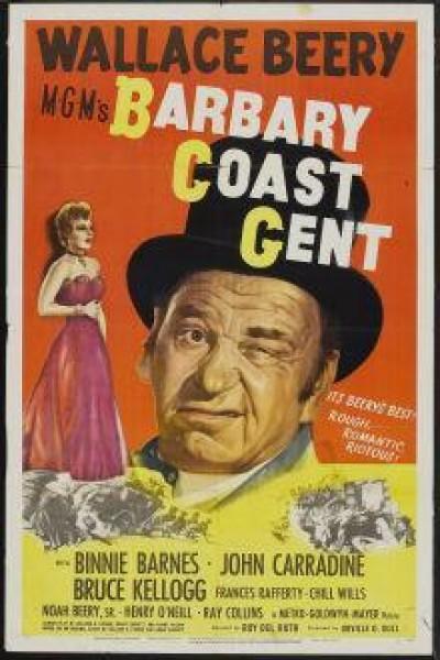 Caratula, cartel, poster o portada de Barbary Coast Gent