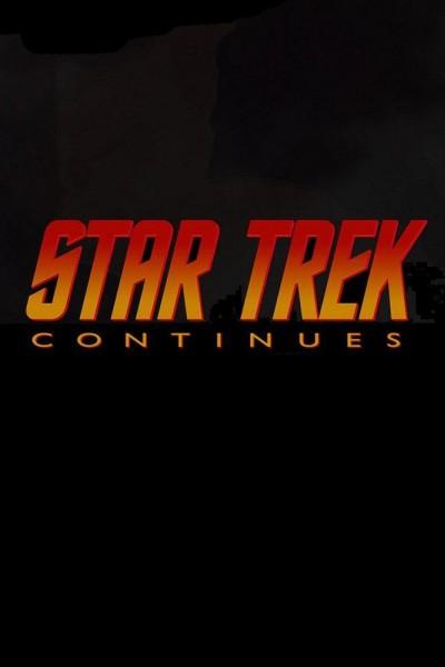 Caratula, cartel, poster o portada de Star Trek continúa