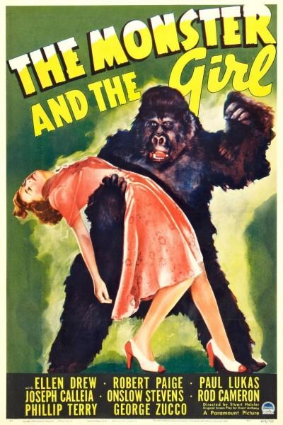 Caratula, cartel, poster o portada de The Monster and the Girl