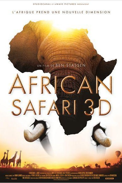 Caratula, cartel, poster o portada de África 3D