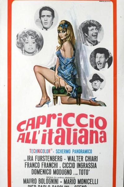 Caratula, cartel, poster o portada de Capriccio all\'italiana