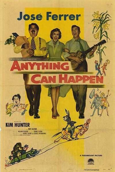 Caratula, cartel, poster o portada de Anything Can Happen