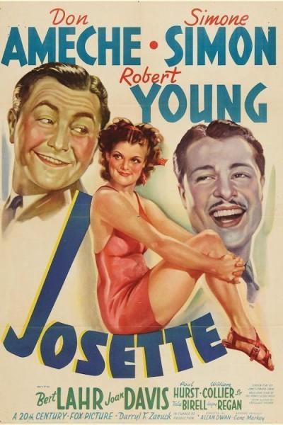Caratula, cartel, poster o portada de Josette