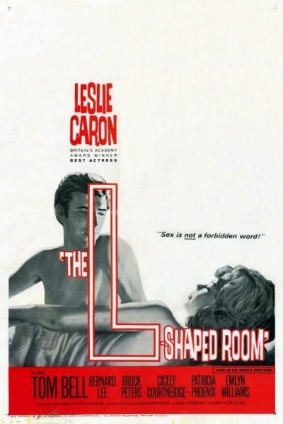 Caratula, cartel, poster o portada de La habitación en forma de L (El cuarto indiscreto)