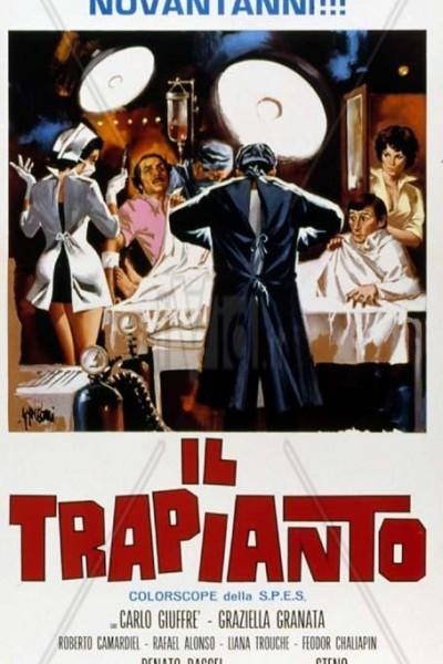 Caratula, cartel, poster o portada de Trasplante a la italiana