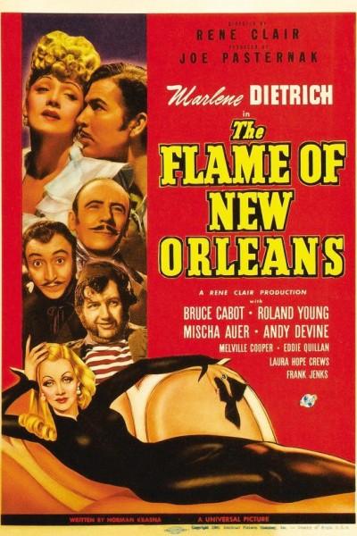 Caratula, cartel, poster o portada de La llama de Nueva Orleans