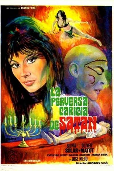 Caratula, cartel, poster o portada de La perversa caricia de Satán