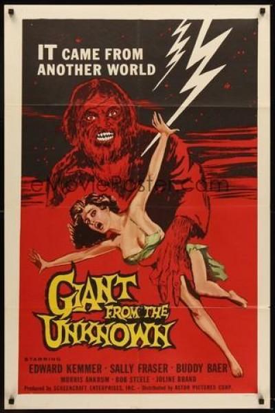 Caratula, cartel, poster o portada de El gigante de la tierra misteriosa
