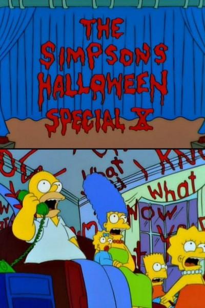 Caratula, cartel, poster o portada de Los Simpson: La casa-árbol del terror X