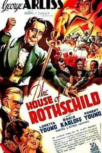 Caratula, cartel, poster o portada de La casa de los Rothschild