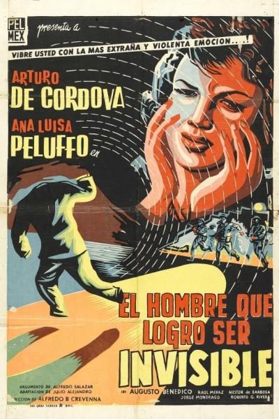 Caratula, cartel, poster o portada de El hombre que logró ser invisible