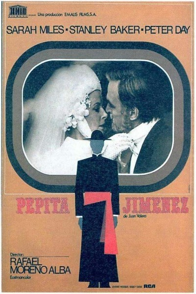 Caratula, cartel, poster o portada de Pepita Jiménez