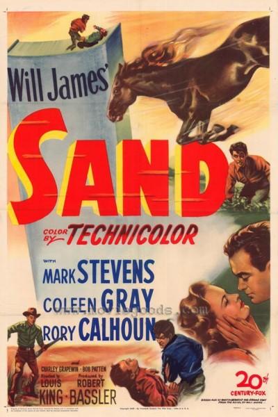 Caratula, cartel, poster o portada de Sand