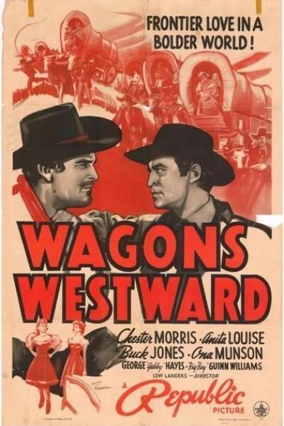 Caratula, cartel, poster o portada de La caravana del Oeste