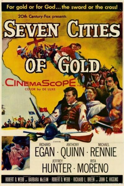 Caratula, cartel, poster o portada de Siete ciudades de oro