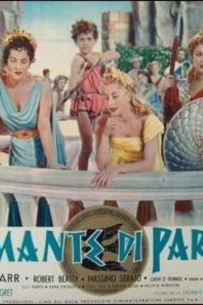 Caratula, cartel, poster o portada de La manzana de la discordia