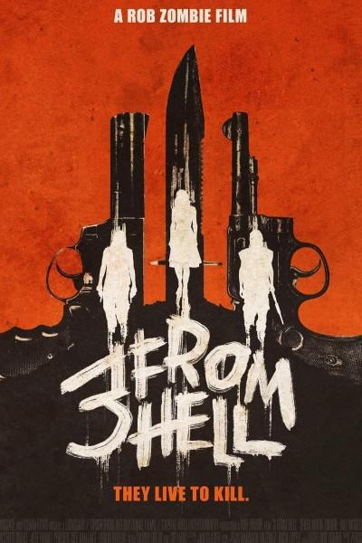 Caratula, cartel, poster o portada de 3 From Hell