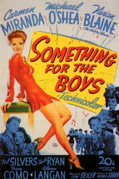 Caratula, cartel, poster o portada de Something for the Boys