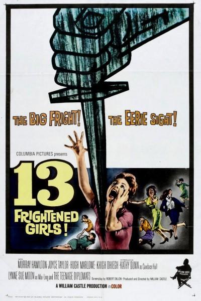 Caratula, cartel, poster o portada de 13 chicas aterrorizadas