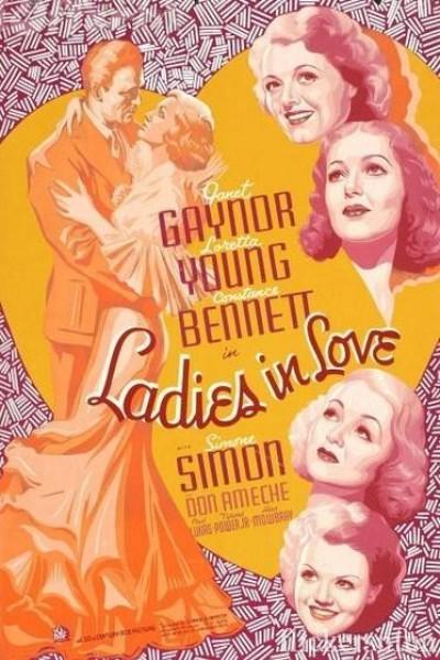 Caratula, cartel, poster o portada de Jóvenes enamoradas