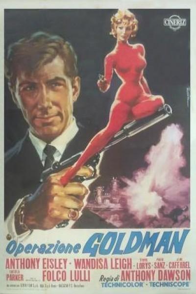 Caratula, cartel, poster o portada de Operación Goldman