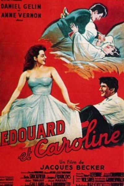 Caratula, cartel, poster o portada de Édouard et Caroline
