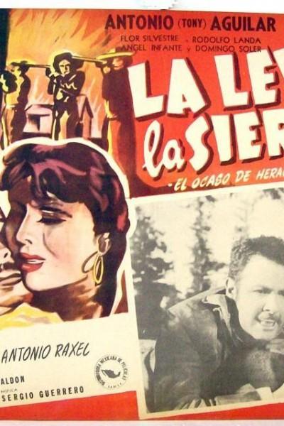 Caratula, cartel, poster o portada de La rebelión de la sierra
