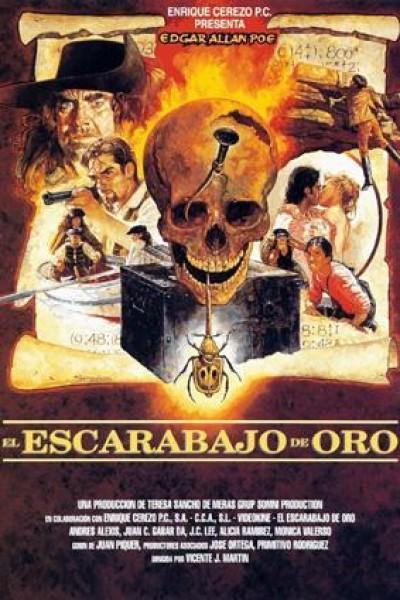 Caratula, cartel, poster o portada de El escarabajo de oro