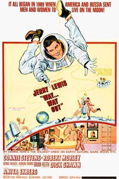 Caratula, cartel, poster o portada de Un chalado en órbita