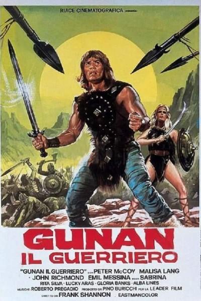 Caratula, cartel, poster o portada de Gunan, el guerrero