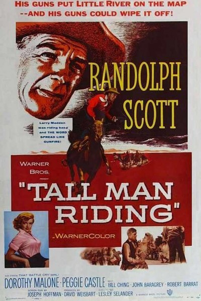 Caratula, cartel, poster o portada de Tall Man Riding