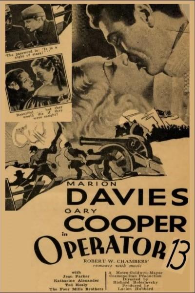 Caratula, cartel, poster o portada de La espía número 13