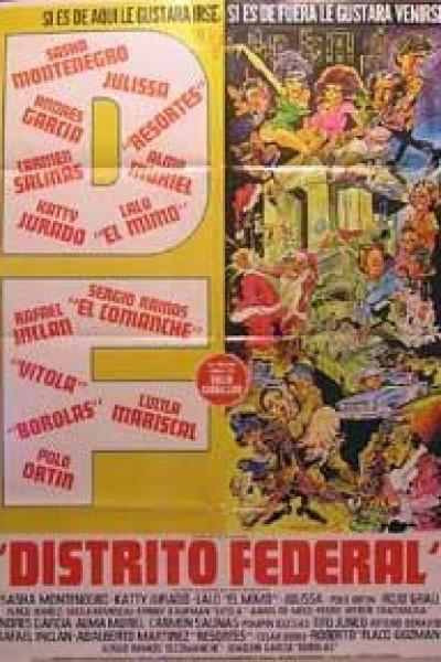 Caratula, cartel, poster o portada de Distrito Federal