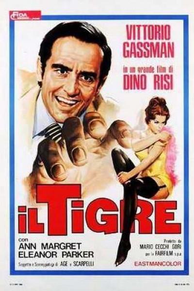 Caratula, cartel, poster o portada de El tigre (Un tigre en la red)