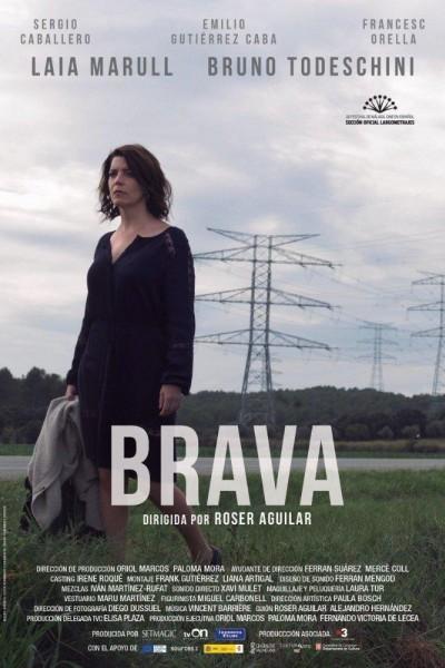 Caratula, cartel, poster o portada de Brava