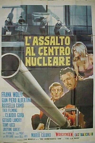 Caratula, cartel, poster o portada de El gran golpe de Niza