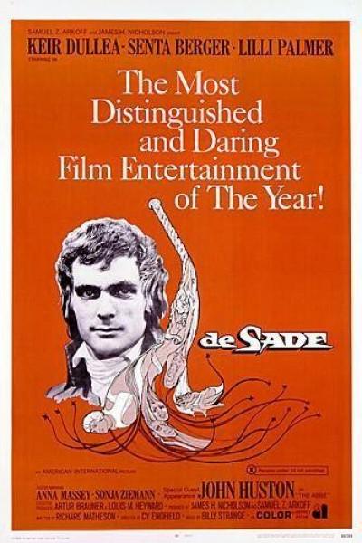 Caratula, cartel, poster o portada de De Sade
