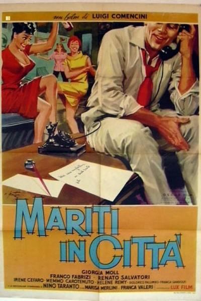 Caratula, cartel, poster o portada de Mariti in città