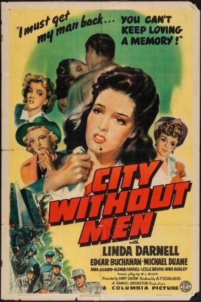 Caratula, cartel, poster o portada de Ciudad sin hombres